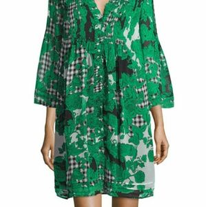 DIANE von Furstenberg LAYLA Silk Dress Size 10